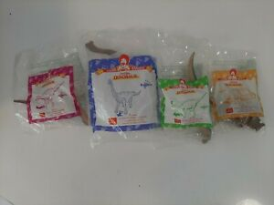 2000-McDonald-039-s-Happy-Meal-Toys-Complete-Set-of-4-Dinosaurs