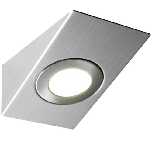 LED MAINS KITCHEN UNDER CABINET CUPBOARD WEDGE LIGHT KIT COOL WARM WHITE
