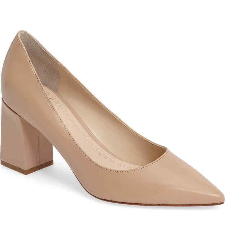 MARC FISHER  LTD'Zala 'Pump Lite Latte Leather donna scarpe Dimensione US 5  risposte rapide