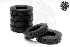 1-75-034-Tires-2-pcs-for-Tamiya-1-14-R-C-Tractor-Trailer-Truck-1-75-034-Wheel