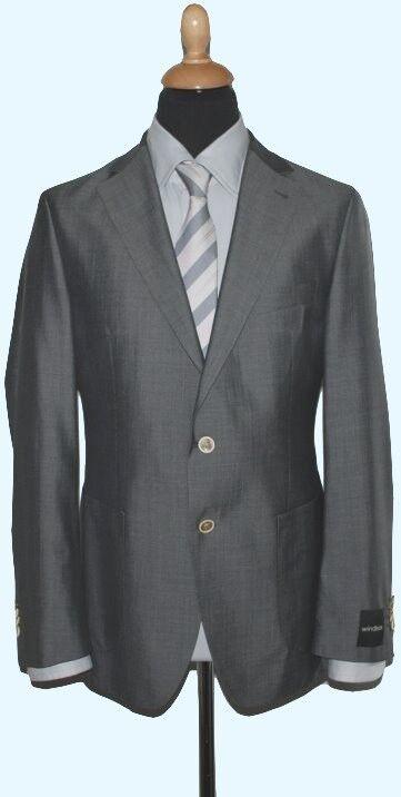 Windsor Herren Schurwollmix Anzug Gr.: 50  NEU