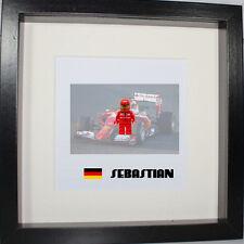 Formula one F1 Ferrari, Red Bull, McLaren Lego 3D frame customise, more teams