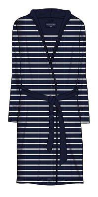 20/% Polyester nachtblau 80/% Baumwolle 151532-804 Schiesser Bademantel 95 cm
