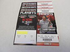 New England Patriots 2014 AFC Championship ticket Bill Belichick photo Tom Brady