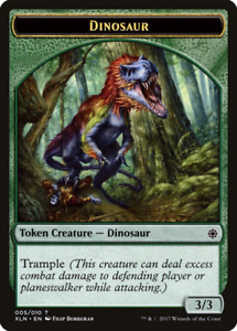 Token Dinosaur Ixalan Tokens 005