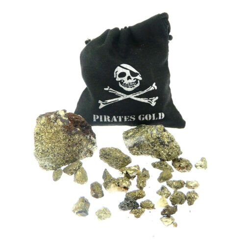Mini Pirate Pyrite Treasure Bag Party Items Christmas Stocking Filler