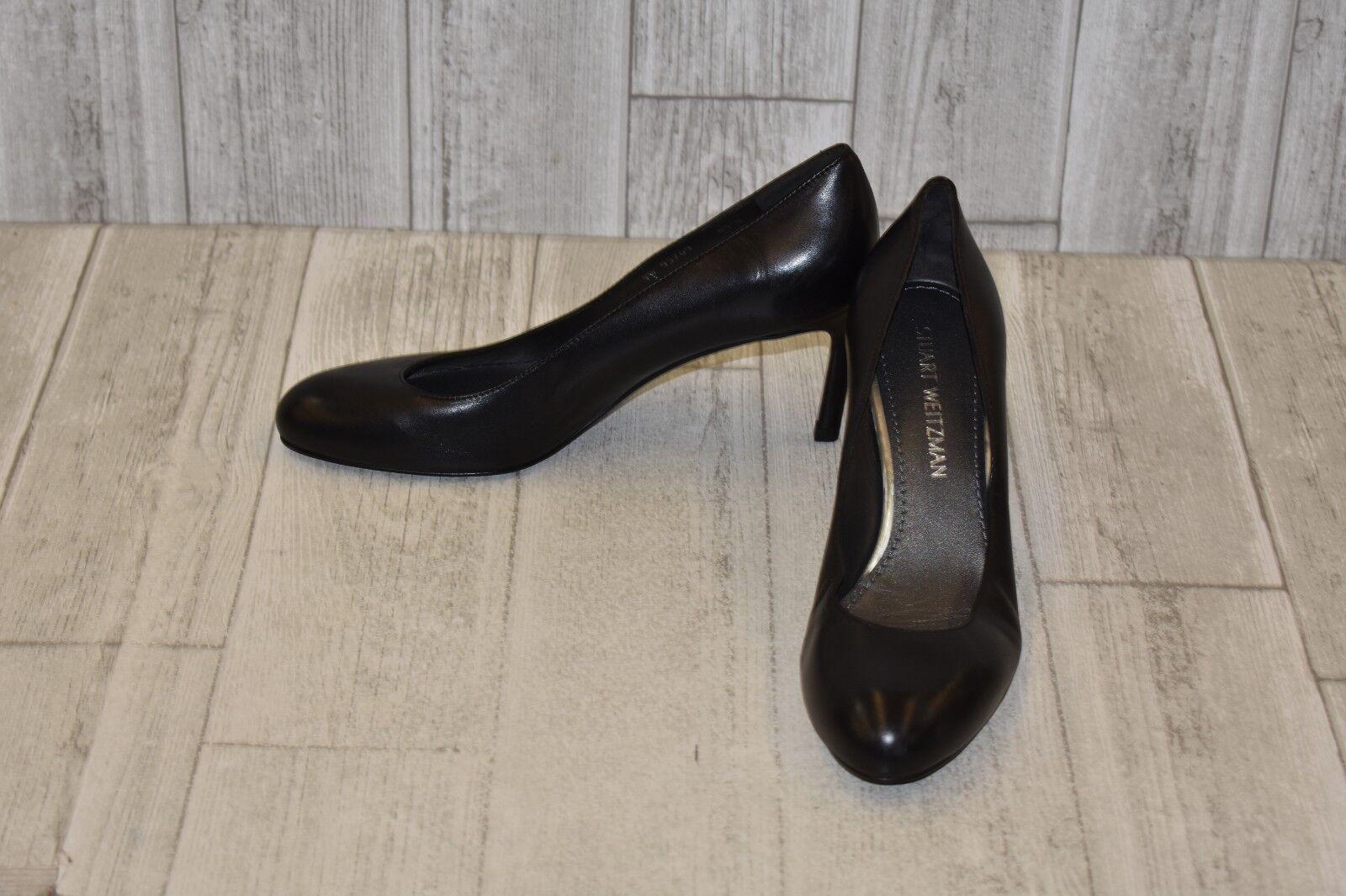 promozioni di sconto Stuart Weitzman 95769 Round Toe Leather Pumps, Pumps, Pumps, Donna  Dimensione 8.5M, nero  prezzo all'ingrosso
