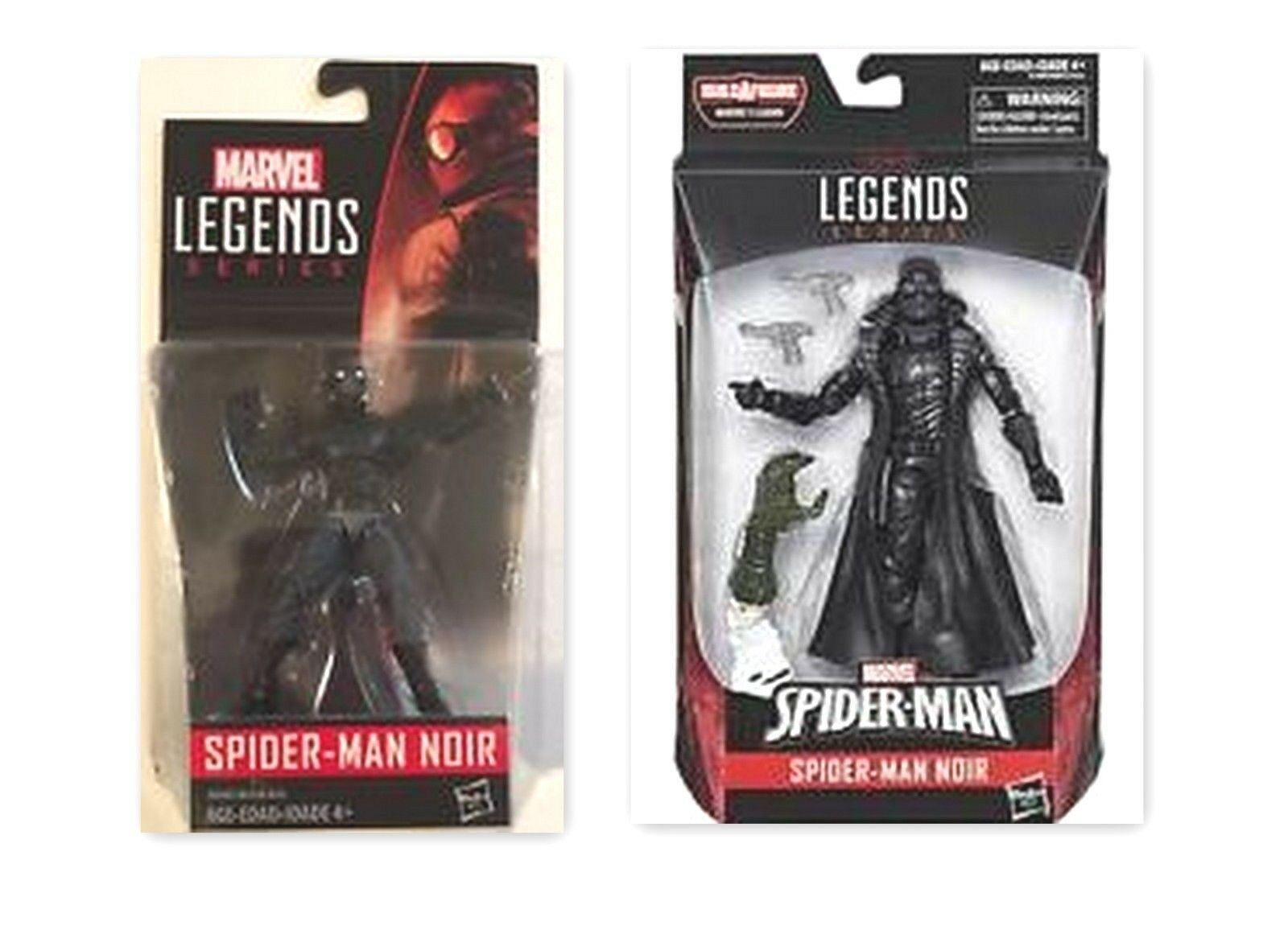 2018 MARVEL LEGENDS SPIDER-MAN SERIES SPIDER-MAN black 6 INCH FIGURE +3.75 FIGURE