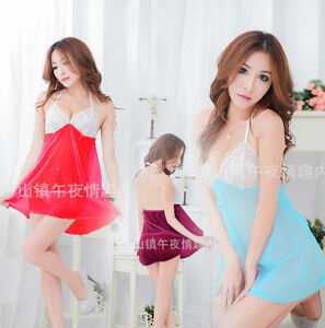 76d5d4cbe Image is loading NightLife-lace-Gown-underwear-lady-sexy-girl-Doll-