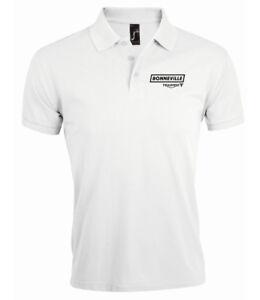 Triumph Bonneville Logo hommage Polo Shirt