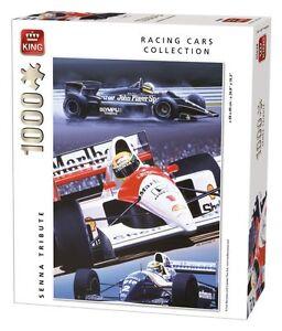 1000 Piece Formula 1 Racing Cars Jigsaw Puzzle - AYRTON SENNA TRIBUTE 05628