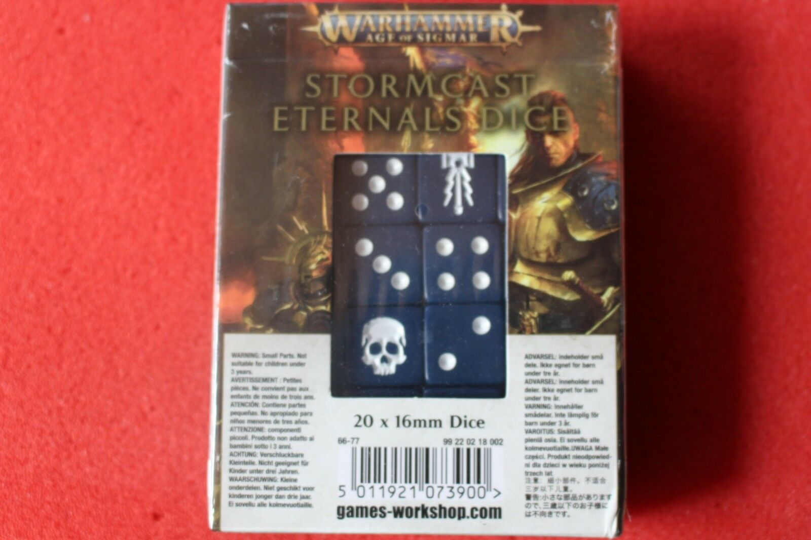 Games Workshop Warhammer Stormcast Eternals Dice BNIB New Age of Sigmar Sealed