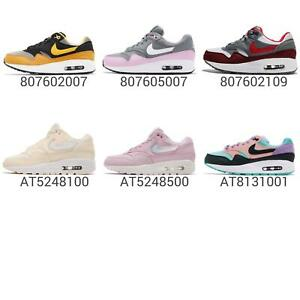 super popular aedf9 36c02 Image is loading Nike-Air-Max-1-GS-Kids-Youth-Womens-