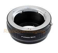 Fotasy Minolta MD MC Rokkor Lens to Fujifilm FX Mount Camera Adapter