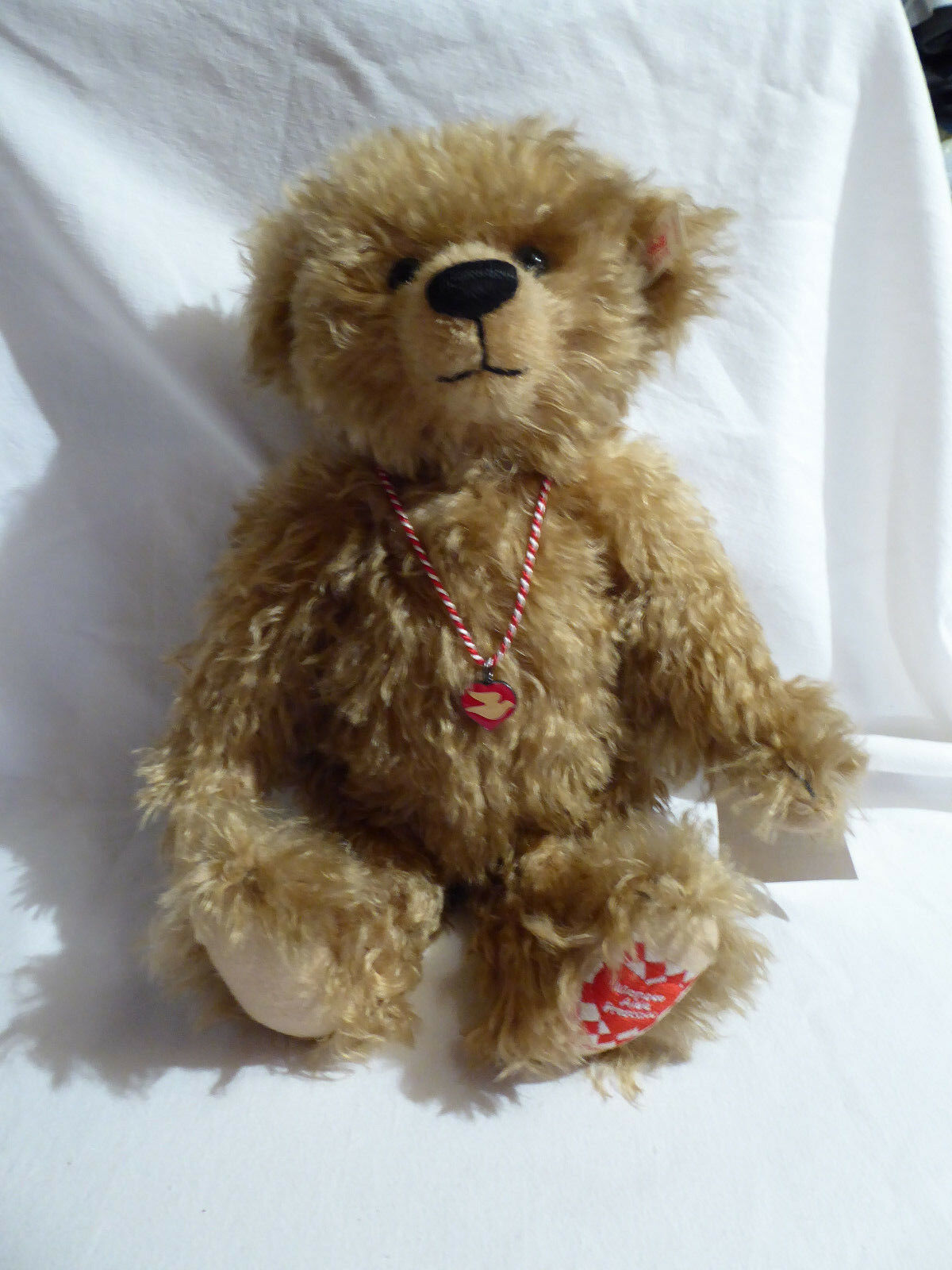 Steiff Teddy The Monaco Bear U Pitchoun Artikel Nr. 658082 Limited Edition