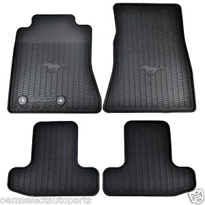 2015 Ford Mustang Floor Mats With Logo