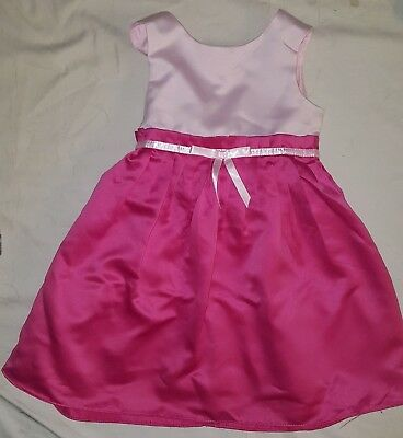 Kidture Collection Beautiful Fancy Light/bright Pink Party Dress Tie-back 2t Dresses Kids' Clothing, Shoes & Accs
