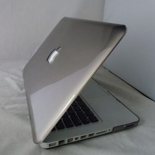 Gray Crystal Hard Plastic Case Cover For Macbook Pro 13//13.3inch Laptop Shell