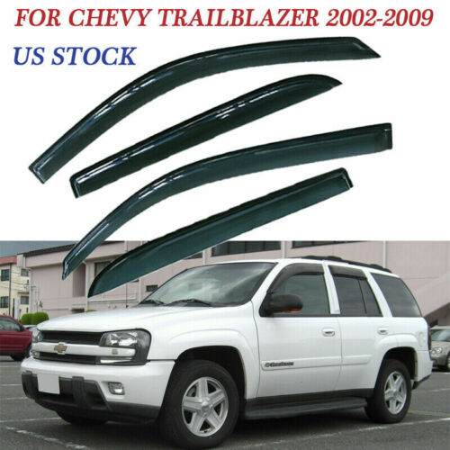 Window Deflector Visor BC96T Fit For Chevy Trailblazer 2002-2009