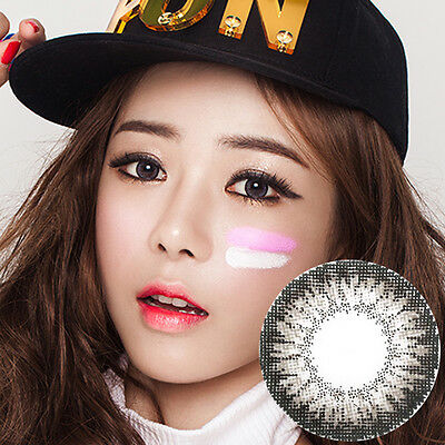 Lentilles de Contact Gris Color Contact Circle Lenses Dia14,2mm FrG