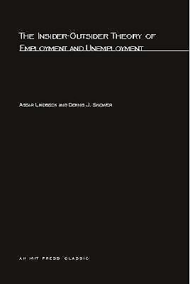 Insider-Outsider Theory of Employment and Unemployment-ExLibrary