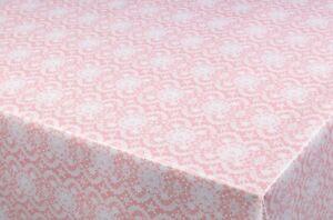 DELILAH GREY  VINYL WIPE CLEAN PVC TABLECLOTH