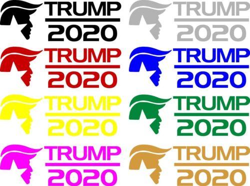 President Donald Trump Head 2020 Decal Sticker Car Window Laptop Bumper Pence