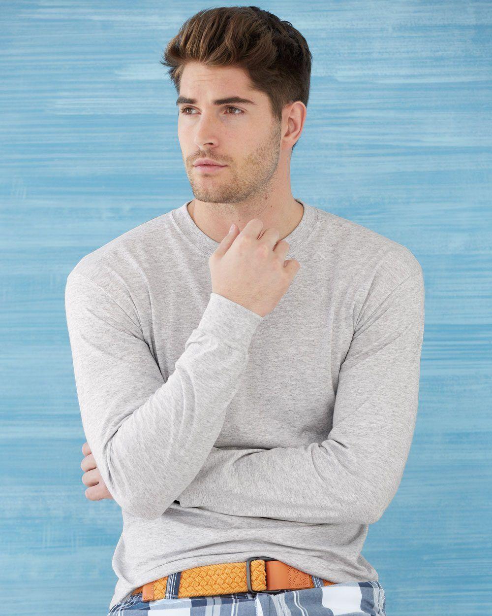 12 Gildan DryBlend 50/50 Long Sleeve T-Shirt Bulk Lot ok to mix S-XL & Farbes