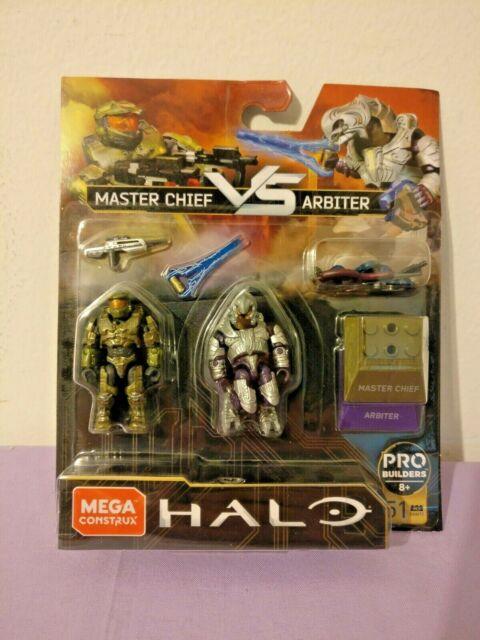 Mega Construx Final Showdown: HALO Master Chief vs Arbiter GNN72 51pcs NEW
