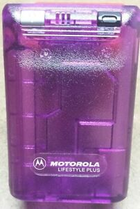Motorola Bravo + Plus Beeper - Prop Pager - It Actually Beeps - Gag Gift - New