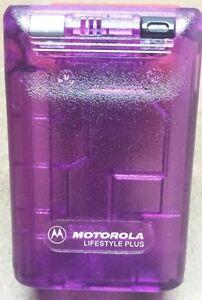 Motorola Bravo + Plus Beeper - Prop Pager - It Actually Beeps - Gag Gift - New
