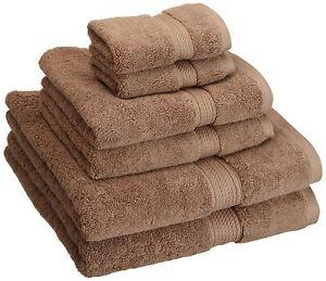 Superior 900 GSM Luxury Bathroom 6-Piece Towel Set Made of 100% Premium Long-...