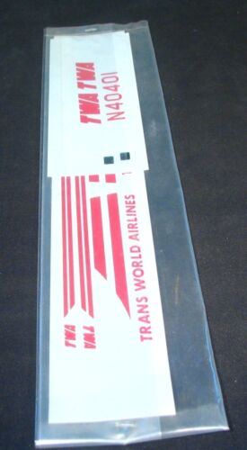 Airtec 172 Martin 404 404 Decals TWA Resin Kit decals RM1G New sealed N40401