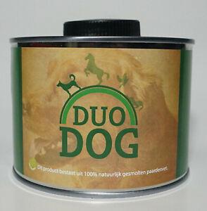 Duo-Dog-Pferdefett-Pumpe-Nahrungsergaenzung-Haut-Allergie-Darm-Hunde-haaren