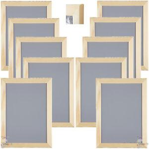 Bekannt 10 Stück Set IKEA VANKIVA 21x30 cm. DIN A4 Holz Foto Bilderrahmen KX78