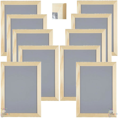 DIN A4 Holz Foto Bilderrahmen Kiefer NEU/&OVP 10 Stück Set IKEA VANKIVA 21x30 cm