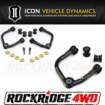 ICON Vehicle Dynamics 03-16 Toyota 4Runner Uniball Upper Control Arm Kit 58451