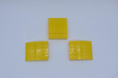 LEGO 15 x Bogenstein Dachstein gebogen gelb Yellow Slope Curved 6x1 42022