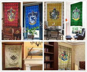 For-Harry-Potter-College-curtain-banner-mural-door-curtain-Home-Decor-hang-piece