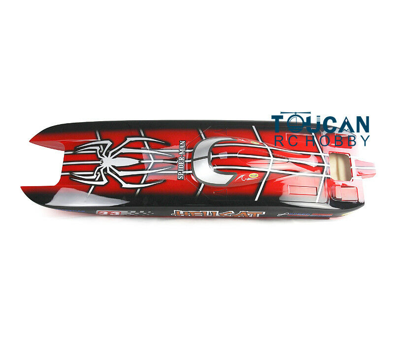 DT RC Electric Boat Hull E51 Coloreeosso KIT  Only for Advanced Player Racing  prezzi più bassi