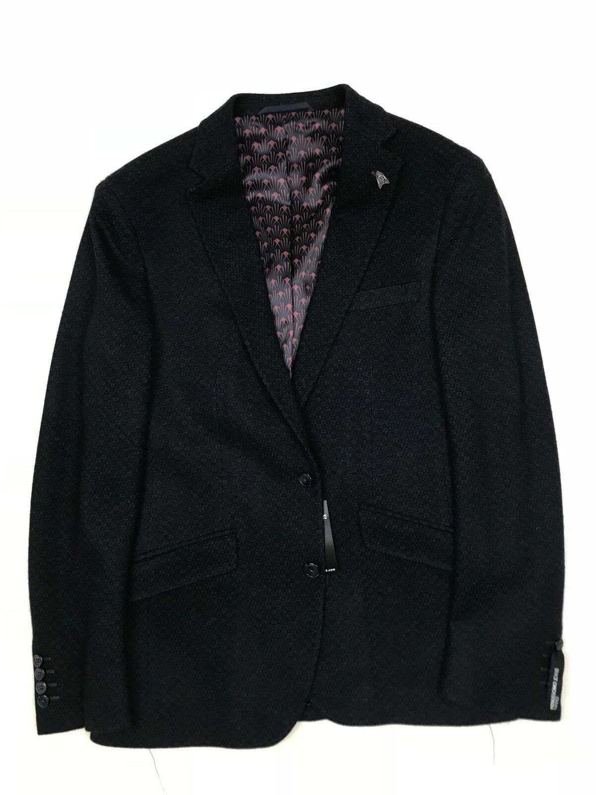 Remus  Herren - Navy Genaro Blazer - 38R - NEW WITH TAGS