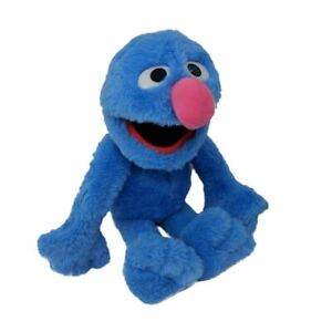 Details About Sesame Street Grover Plush Soft Toy 13 Blue Retro Tv Muppets