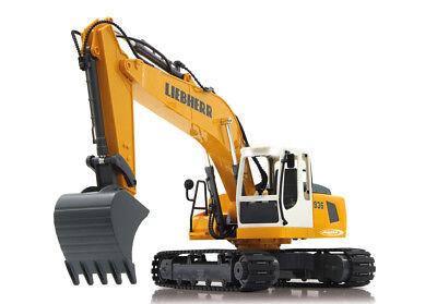 6x piles AA Jamara chaînes excavateurs EXCAVATRICE LIEBHERR r936 1:20 2,4ghz incl