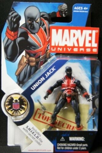 Series 1 Wave 4 #026         MOC Marvel Universe Union Jack
