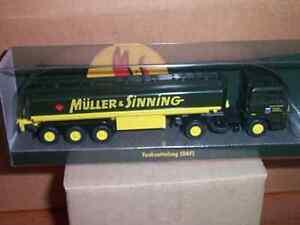 1/87 Wiking Daf 3300 Tanksattelzug Tsz Müller Et Sinning-neuf!-afficher Le Titre D'origine Promouvoir La Santé Et GuéRir Les Maladies