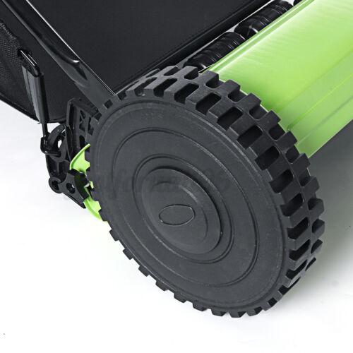 Lawnmower Hand Push Lawn Mower Manual Reel Grass Catch Tool Manchine 5