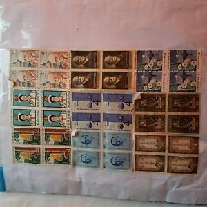 Used-postage-stamps-on-paper