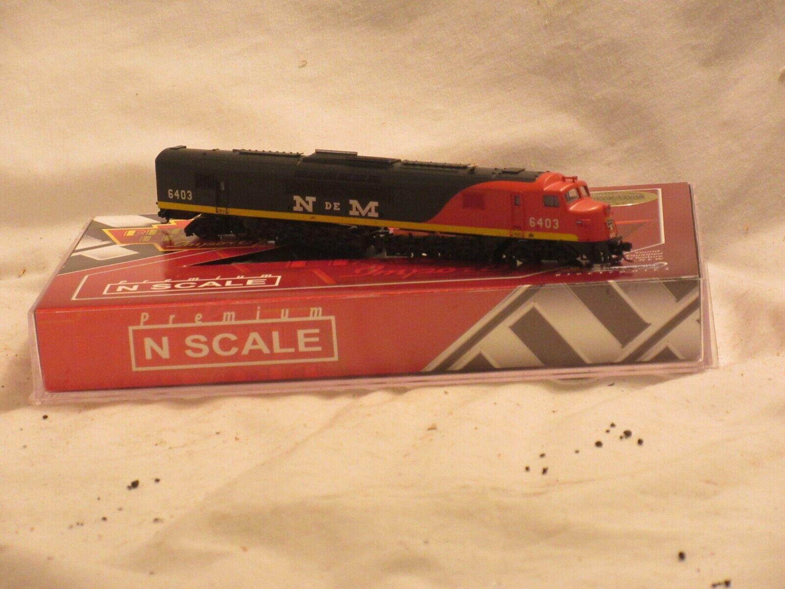 Broadway Limitierte Nacionales De Mexico 6403 n Maß Centepede Diesel Lokomotive