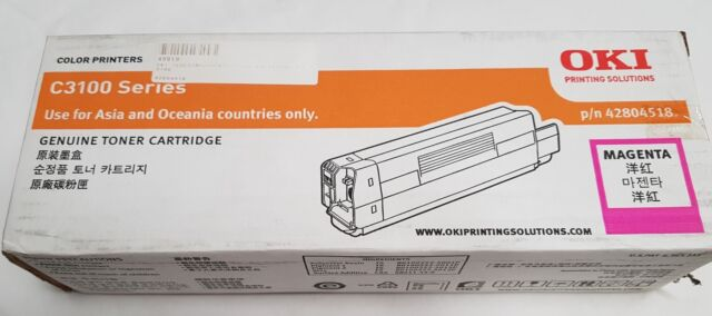 OKI TCOC3100MAGENTA Toner Cartridge for C3100