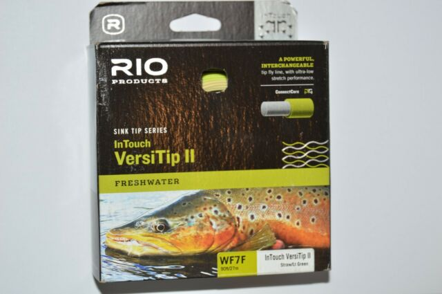 Rio InTouch Versitip II Interchangeable Tip Fly Fishing Line Welded Loops Wf7f for sale online
